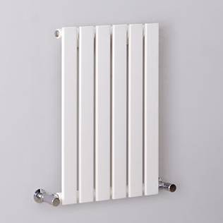 milano alpha white horizontal single slim panel designer