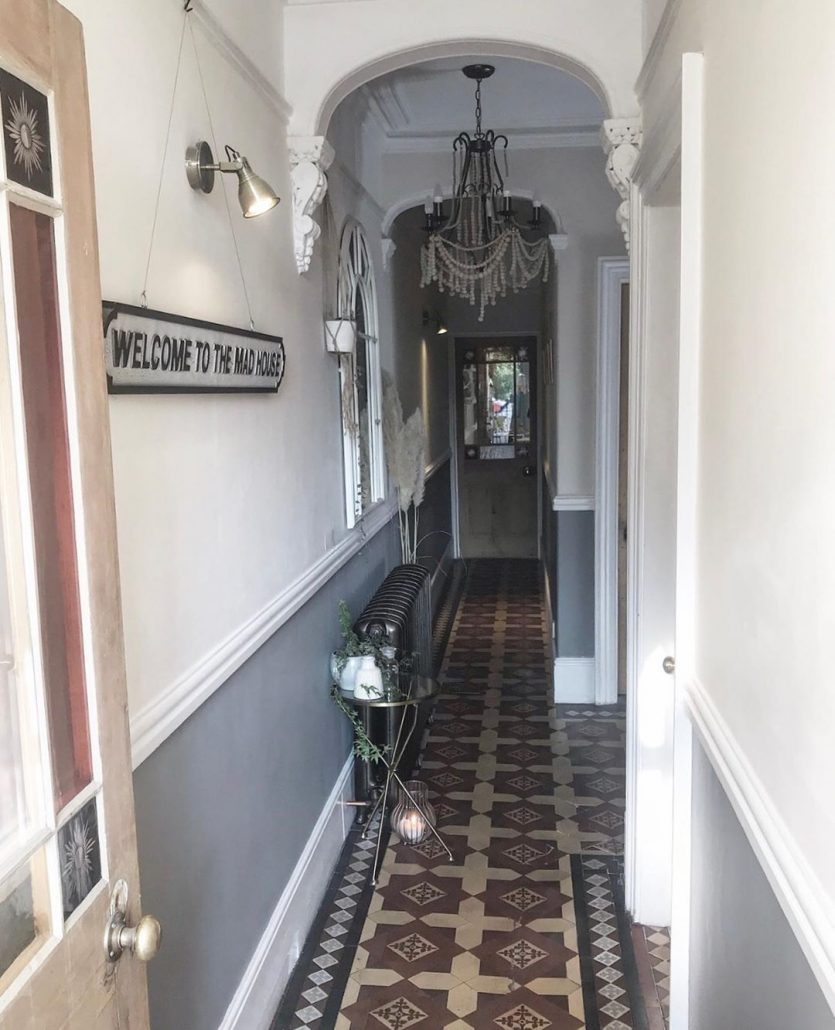 Rachael's hallway after the renovation