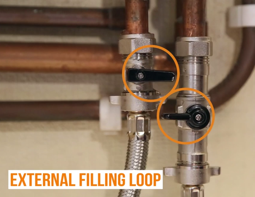 Fill Pressurised Boiler_4_External Filling Loop