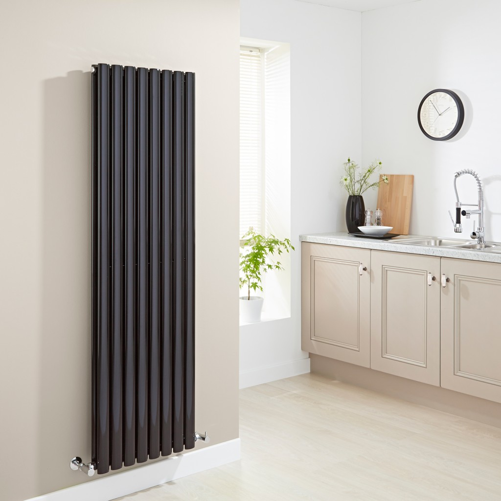 black kitchen radiator