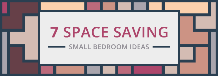 How can I save space in a small bedroom blog