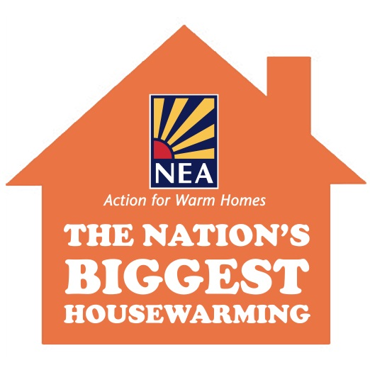 National Energy Action's warm homes housewarming fundraiser