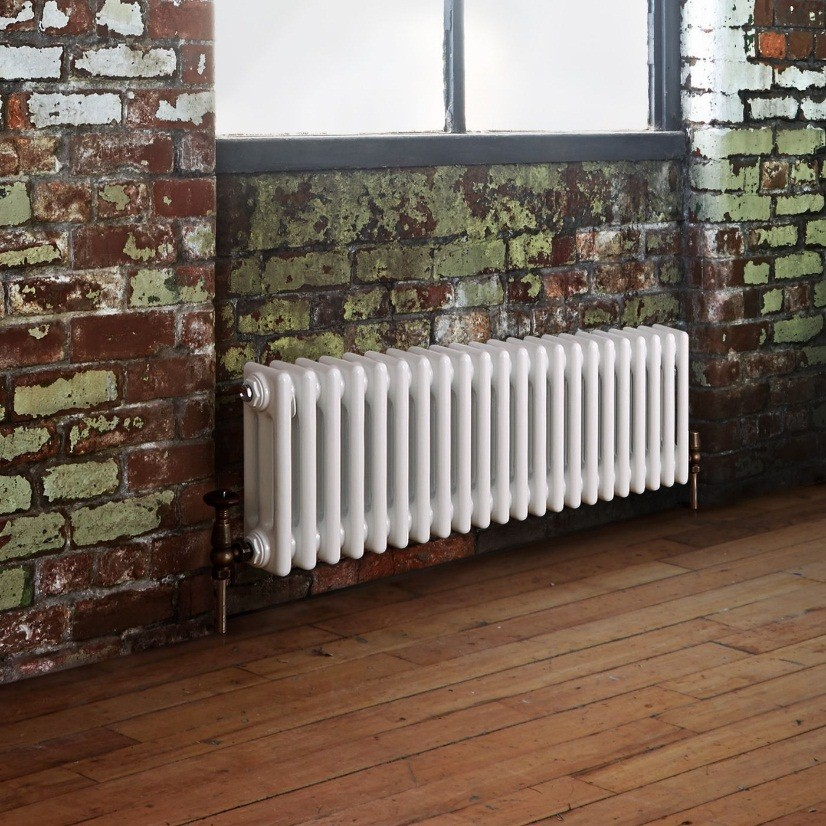 low profile horizntal traditional column radiator