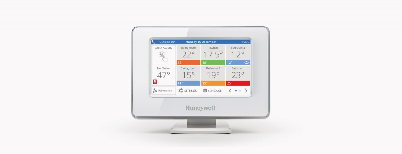the honeywell evohome hub