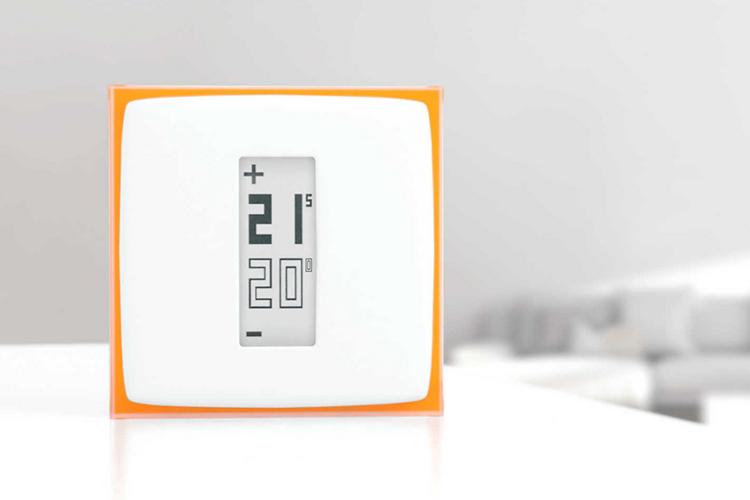 a netatmo smart thermostat