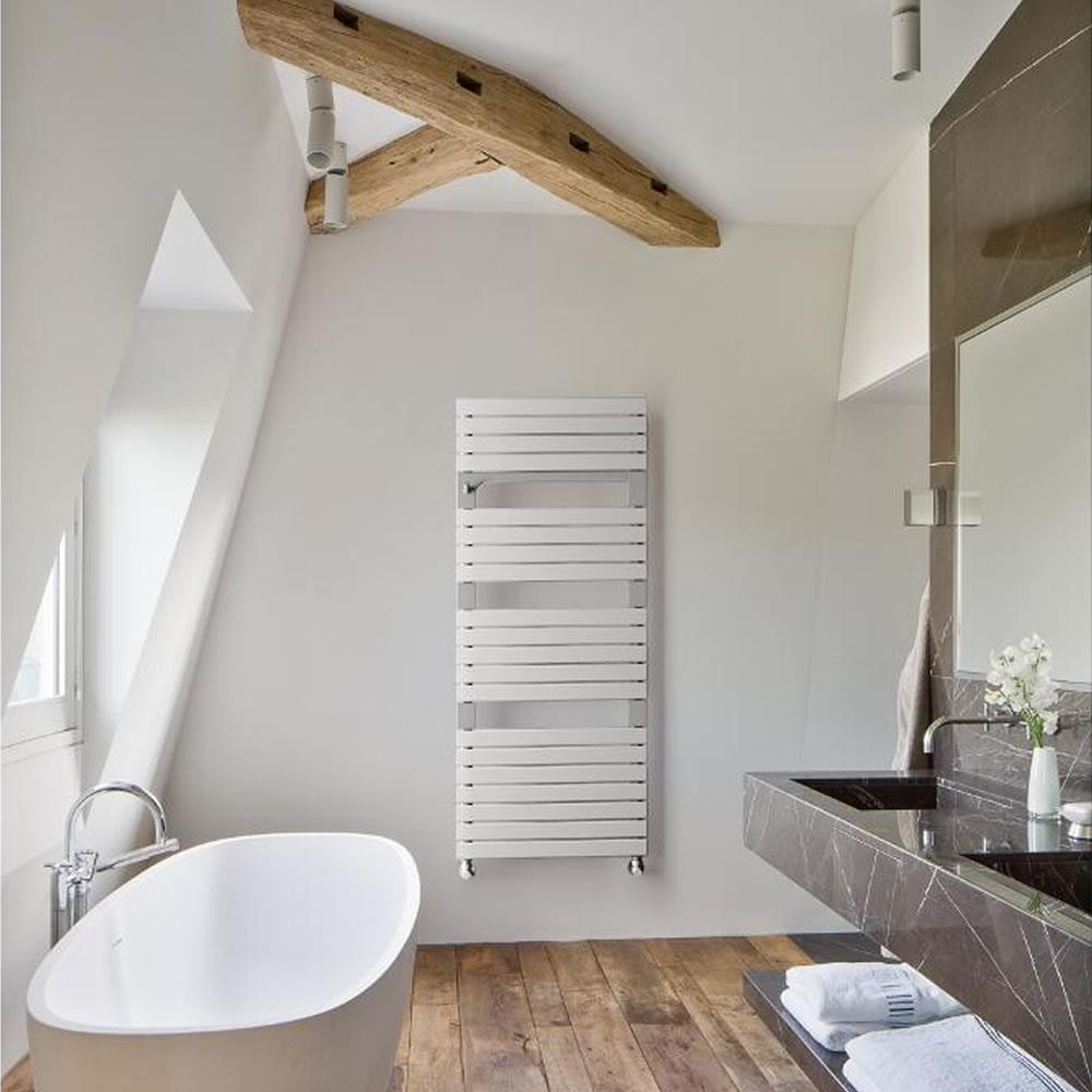 Lazzarini Torino heated towel rail