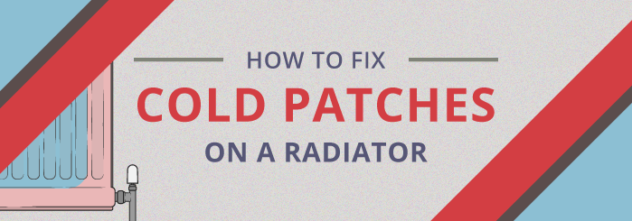 How to fix cold patches on a radiator