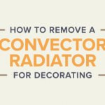 How to remove a convector radiator for decorating banner