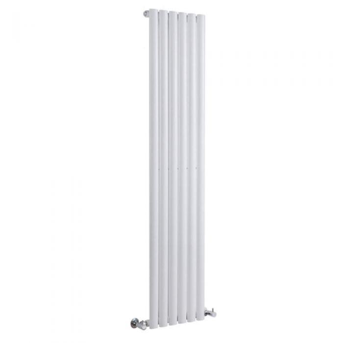 Milano Aruba - White Vertical Designer Radiator 1600mm x 354mm