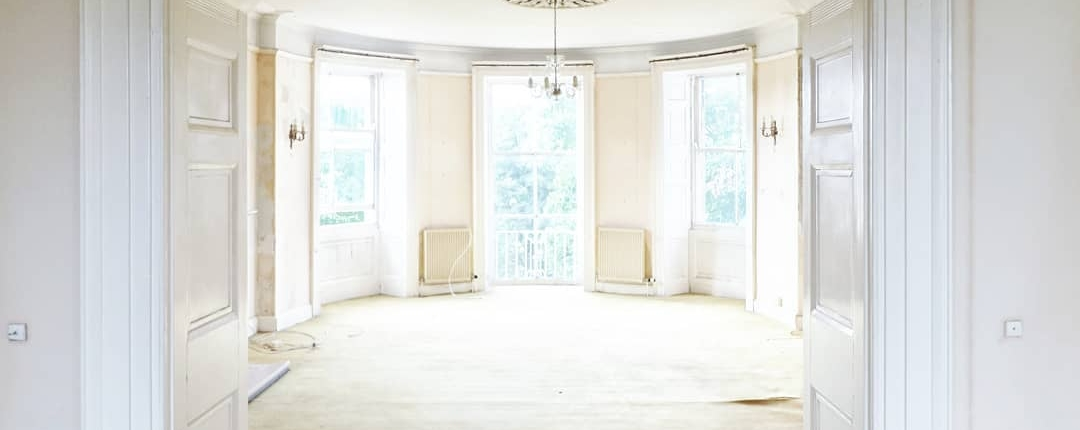Greg's party room before the renovation