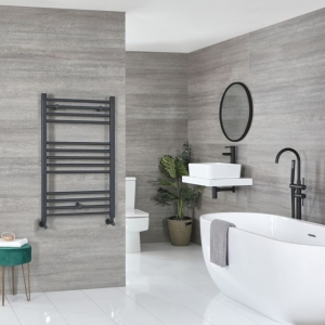 Milano Artle anthracite towel rail