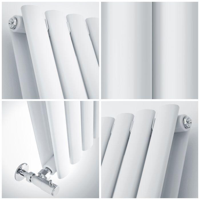 quad image of a small aruba radiator