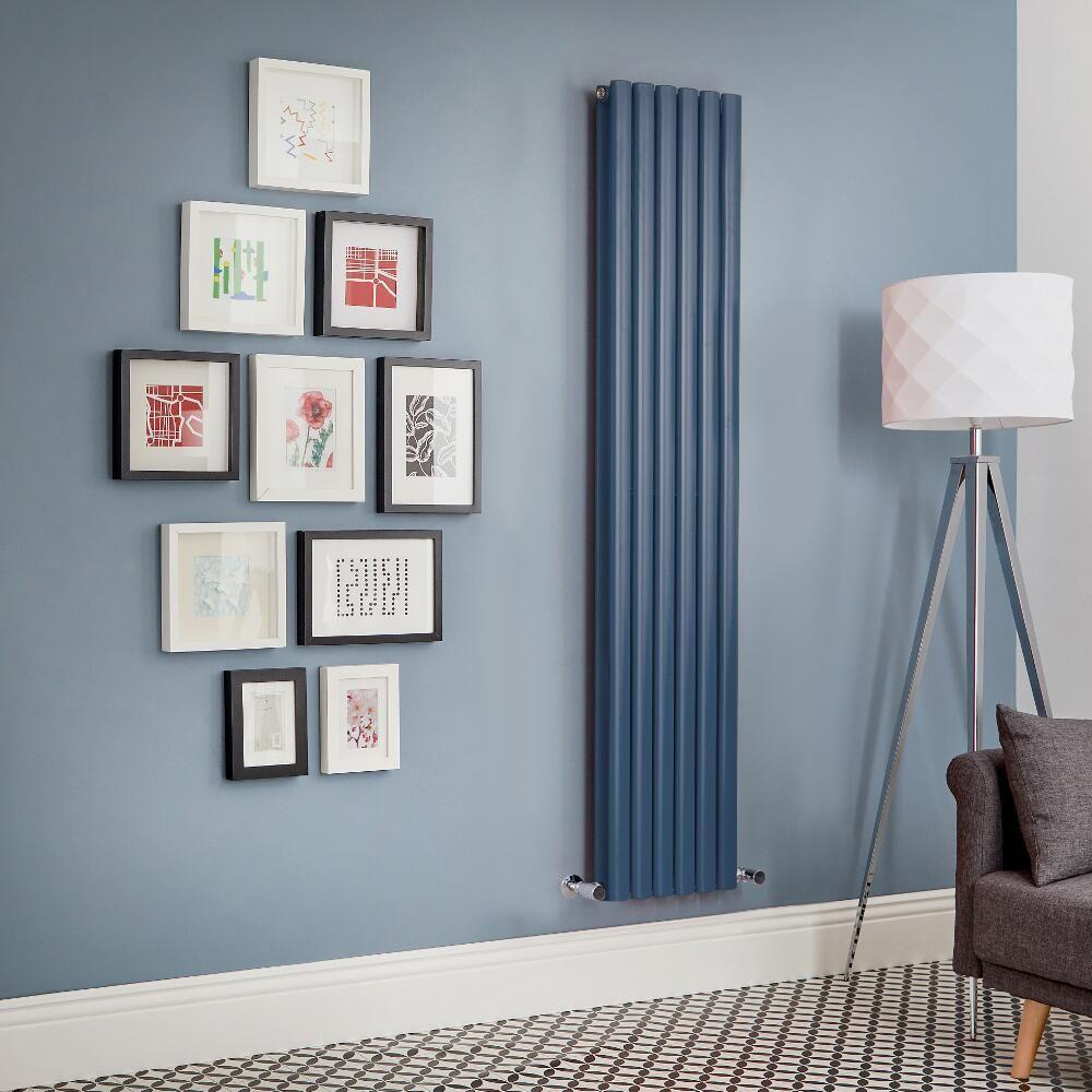 aruba blue vertical radiator