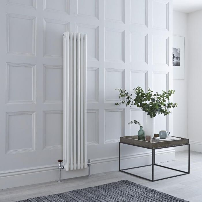 Milano Windsor white column radiator.