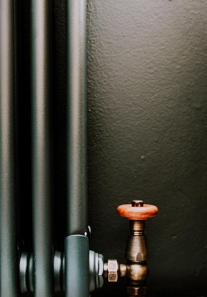 Milano Windsor radiator valves