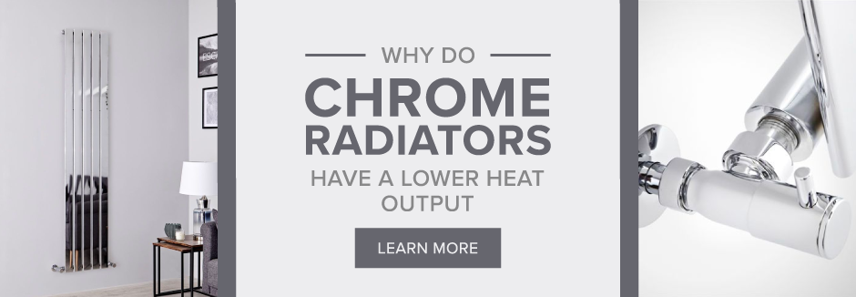 Chrome Radiators lower heat output blog banner