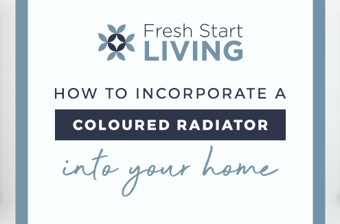 How to incorporate a coloured radiator into your home featured image