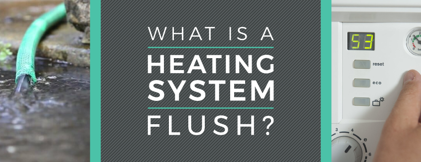 bh heating system flush banner