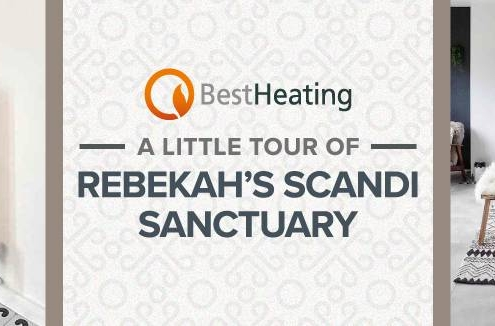 Rebekah's Scandi sanctuary blog banner.