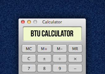 radiator btu calculator