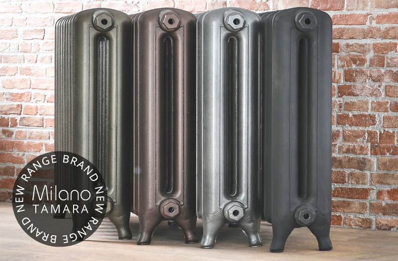 Milano Tamara cast-iron radiators.
