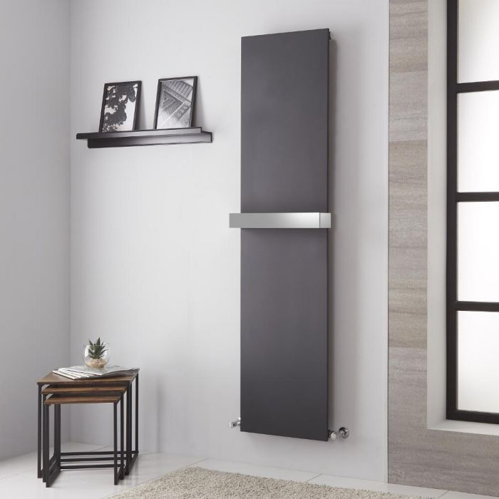 Lazzarini Way Ischia Anthracite Vertical Designer Radiator