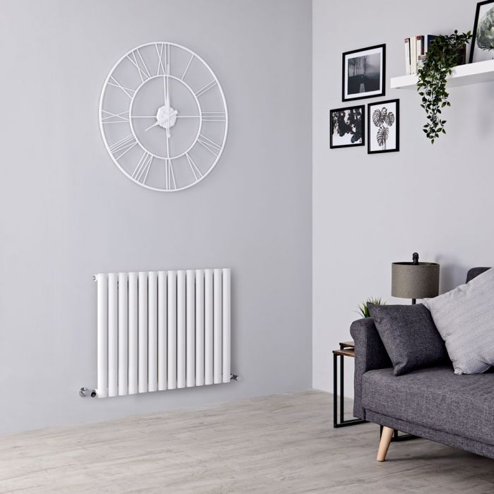Milano Aruba designer radiator in a living room