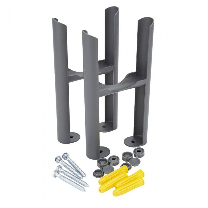 Milano Windsor - Traditional 3 Column Radiator feet - Anthracite