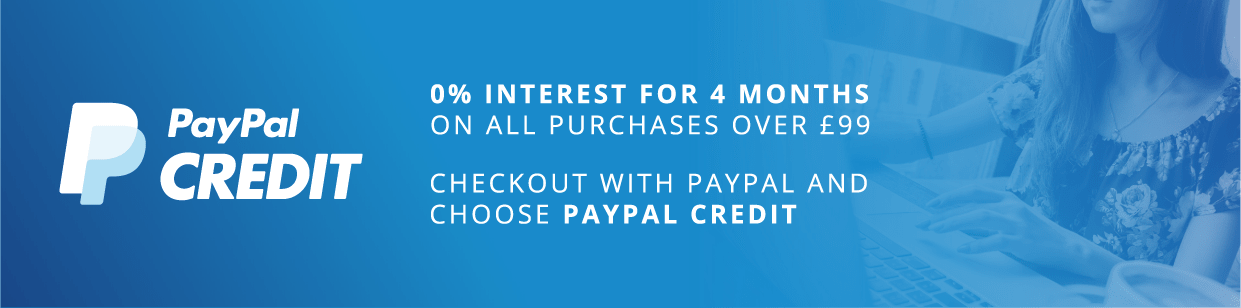 0% finance with PayPal